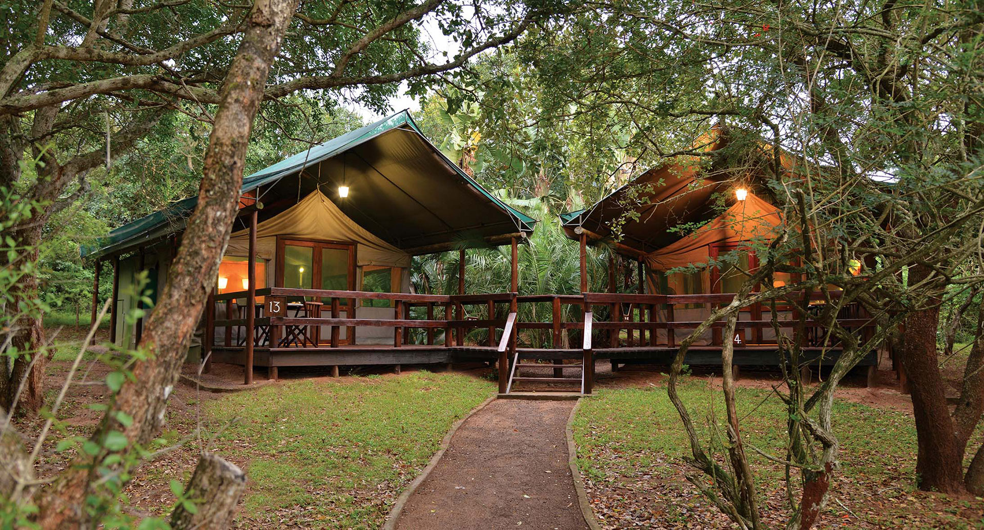 Luxury Tents Falaza Game Park Amp Spa